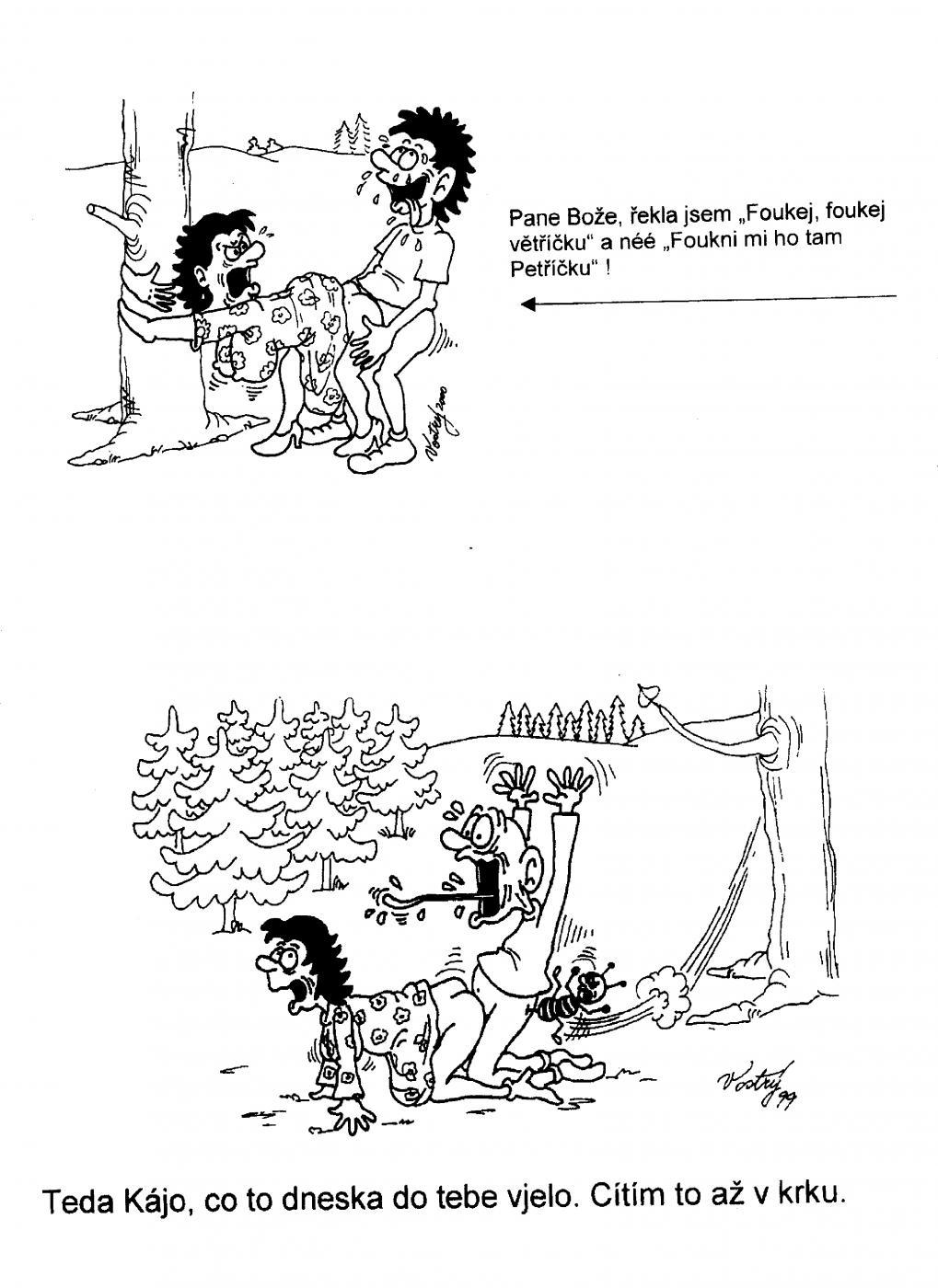 Mama a syn karikatúra porno komiksy