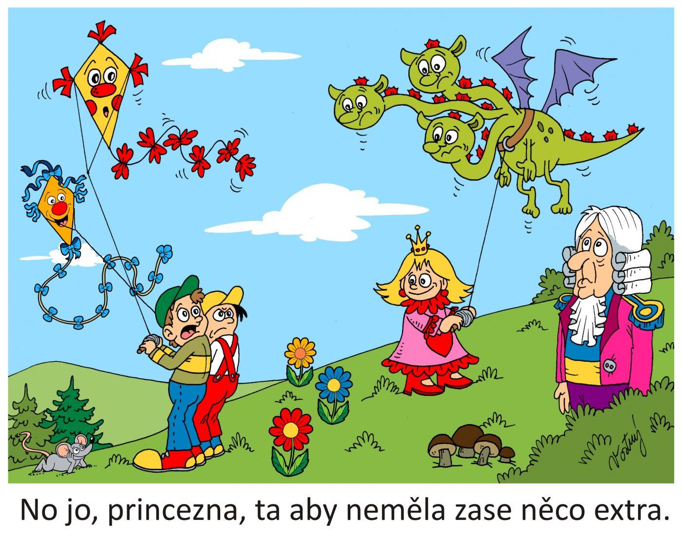 Kresleny Vtip Jako Zabava Pro Deti Mirek Vostry