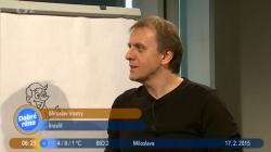 Můj rozhovor v ČT Ostrava